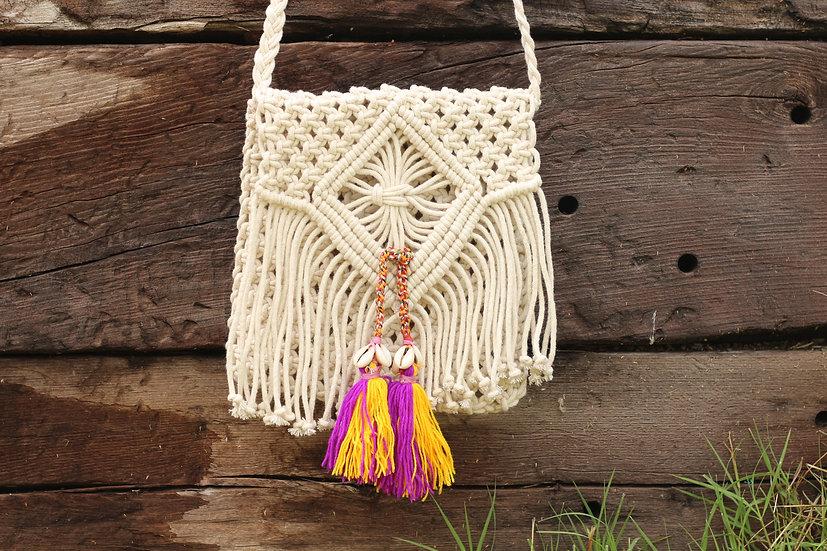 SAYAKA Cotton Small Bag