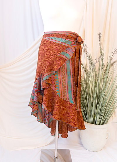 AMRTADI Wrap Skirt (L/XL)
