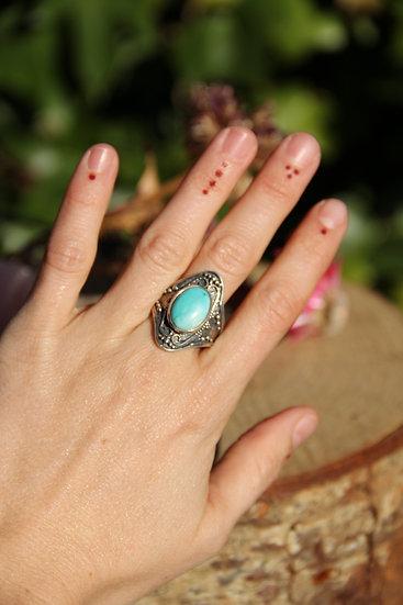 SAMPURNA Silver Ring
