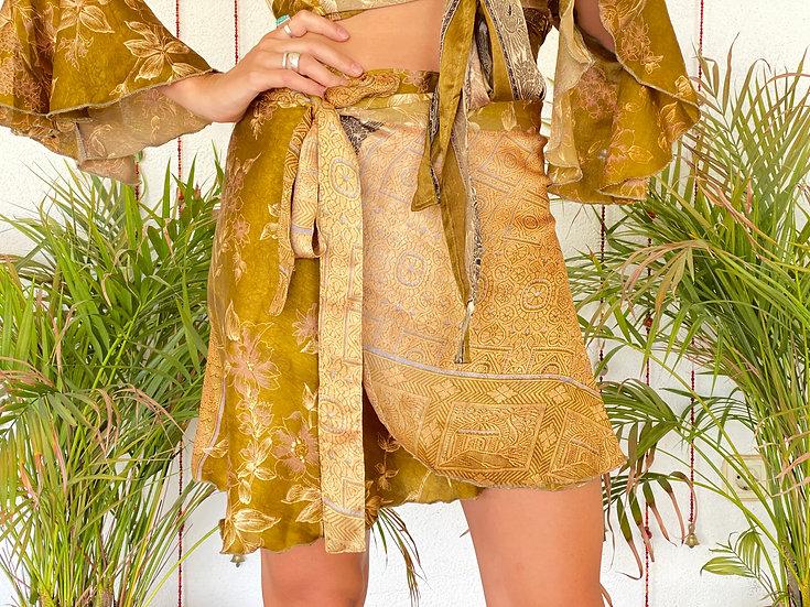 AMATIH Twin Set-Skirt