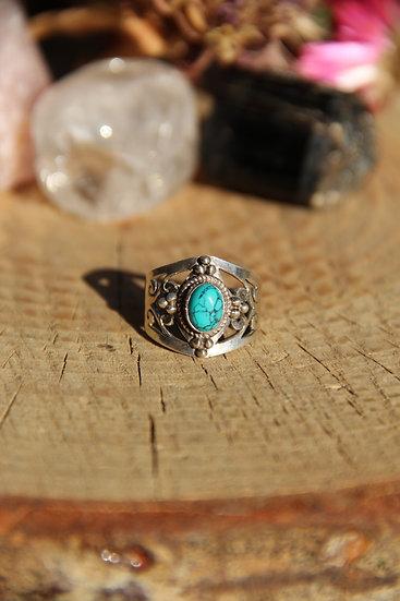 PRABHA Silver Ring