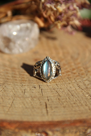 Hanuman Silver Ring