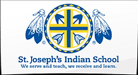 St Joseph's Indian School logo