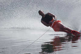 Learning to Slalom Waterski at CJM