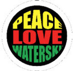 peace love and waterski
