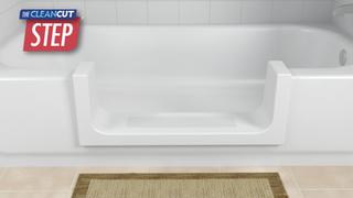 Accès facile à votre baignoire