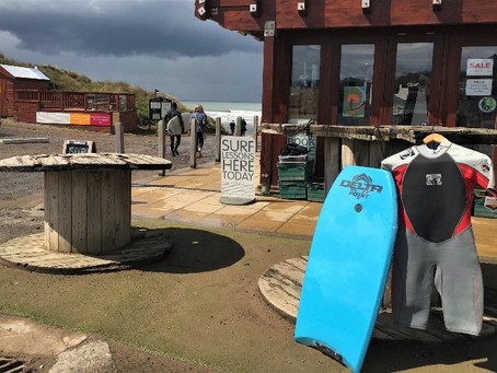 Saunton Sands is an awesome beach on which to learn to surf and progress and a great playground!