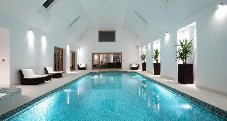Beautiful Indoor Swimming Pool