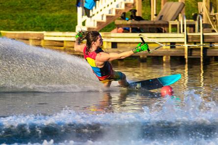 Corey Vaughn - Pro Slalom Waterskier