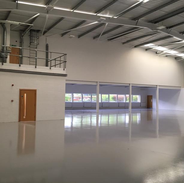 Warehouse refurb