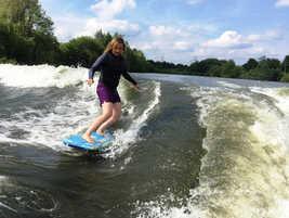 Advanced Wakesurfing near Reading Berkshire
