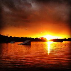 Thorpe Lakes Sunset