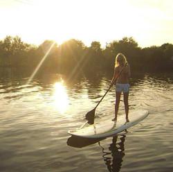 SUP at Thorpe Lakes