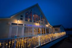 Lakeside Brasserie at Night