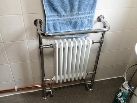 Installed Towel Rail
