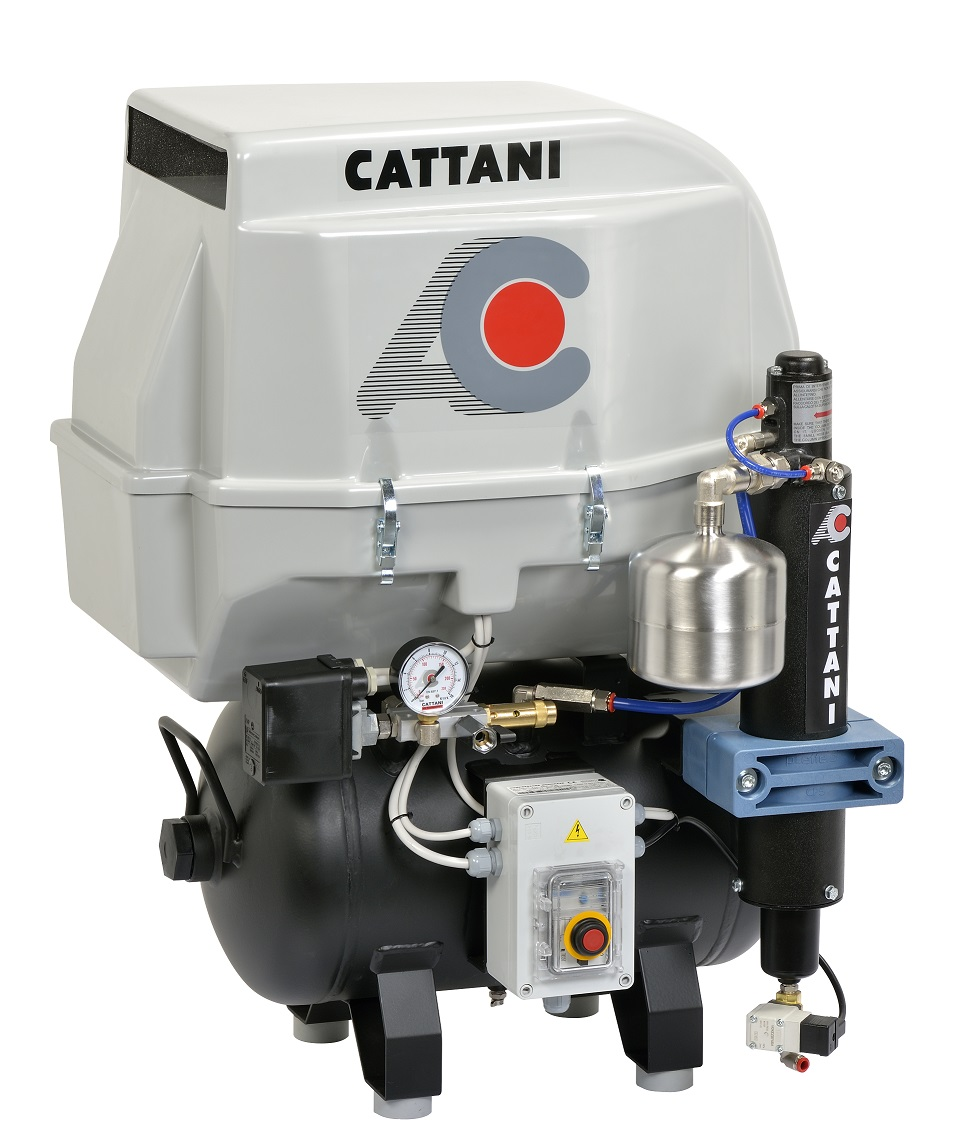 AC200Q Compressor at AG Dental