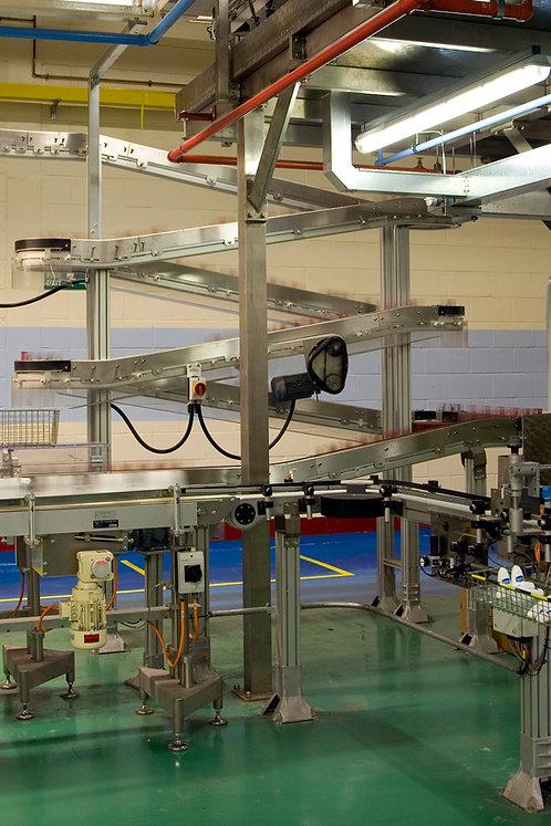 Bespoke Alpine Modular Aluminium Conveyor