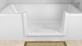 Aide au bain pour personnes âgées