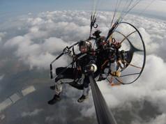 Scout Tandem Paramotor Flight