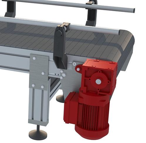MTS 100 Modular Aluminium Conveyor
