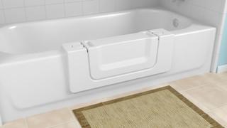 Conversion de salle de bain pour personnes âgées