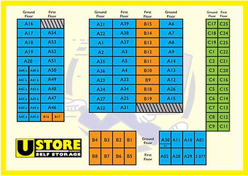 UStore Sandhurst Self Storage Map