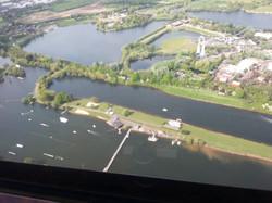 Arena Lake Aerial View