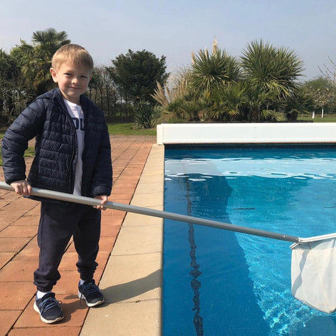 Pete the Poolman Apprentice
