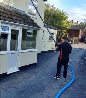 Gutter Clearance Post 1