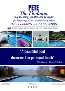 The best Pool Man in Surrey