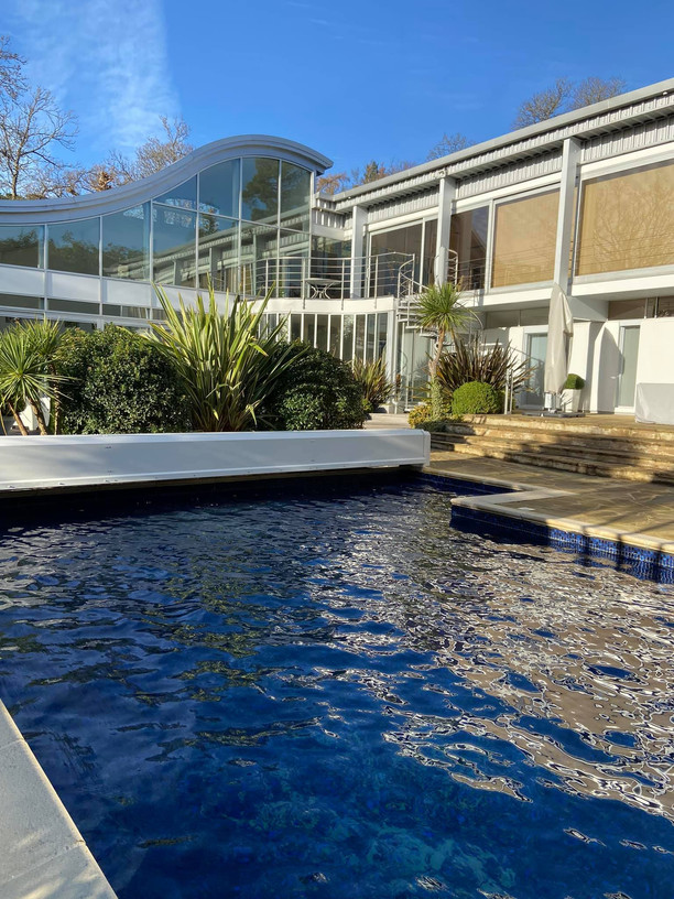 Lovely pool architecture