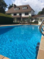 Gin clear pool water
