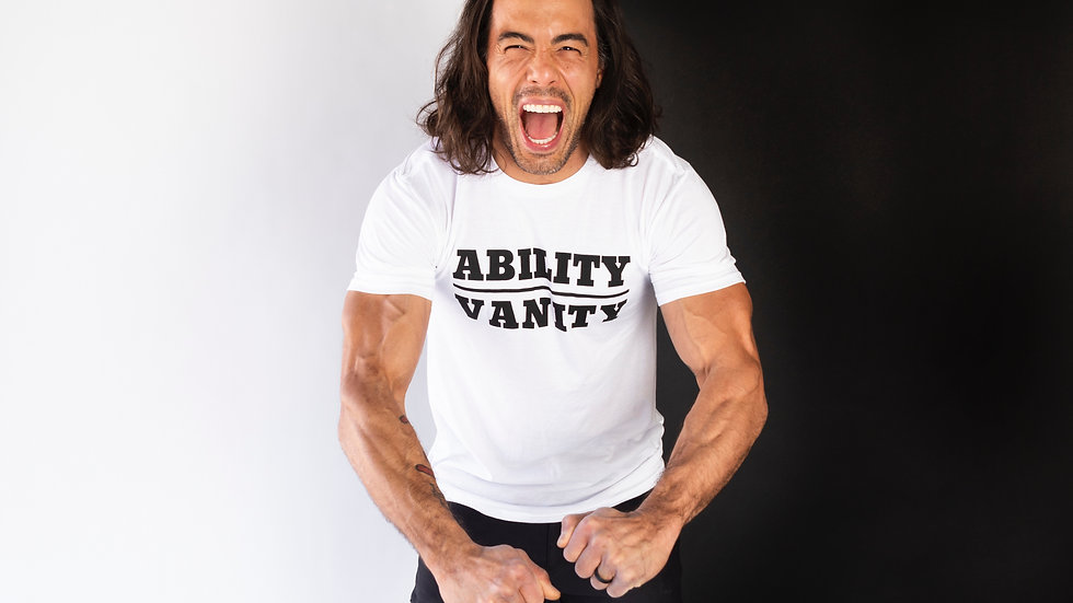 Special Edition - ABILITY OVER VANITY T-shirt