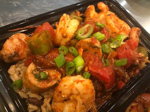 Chicken Shrimp Jambalaya