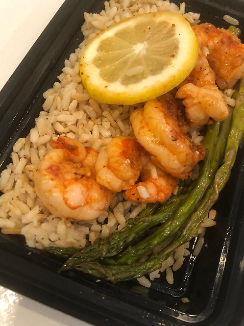 Lemon Shrimp Asparagus