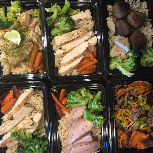 Chef's Choice - Basics 6 Pack Lunches