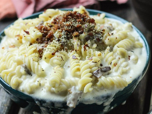 Family Size Truffle Chicken Mac N' Cheese