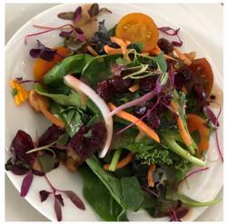 Wedding Seated Dinner Salad