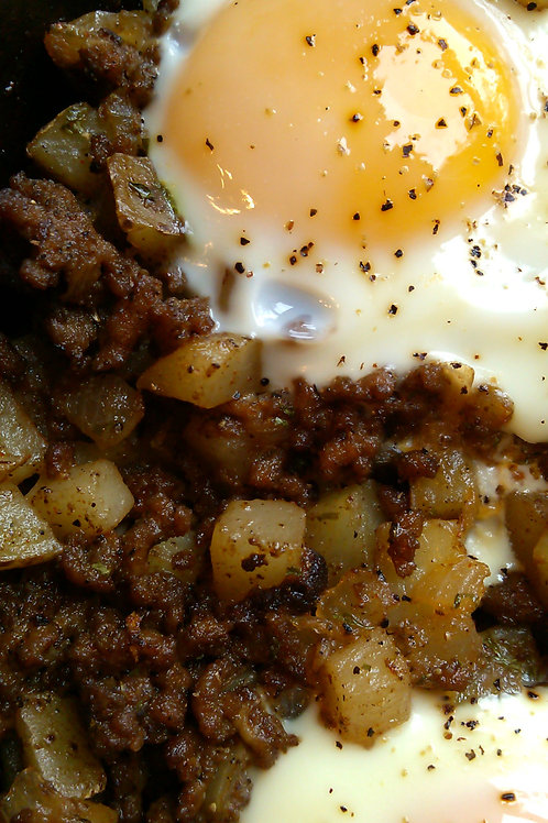 Beefy Breakfast Hash