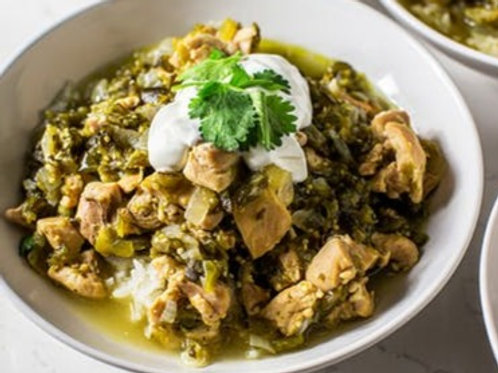 Hatch Chile Slow Cooked Chicken