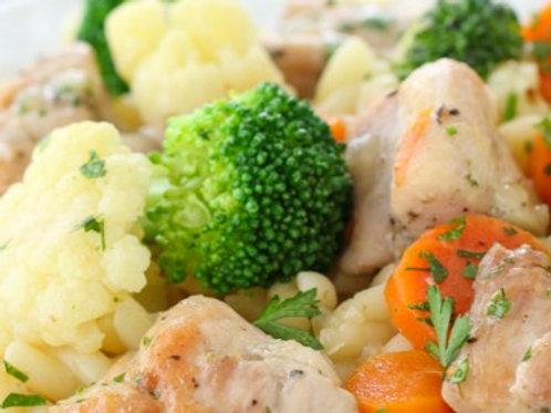 Steamed Chicken & Vegetables