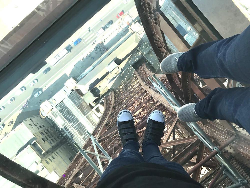 Blackpool tower glass floor