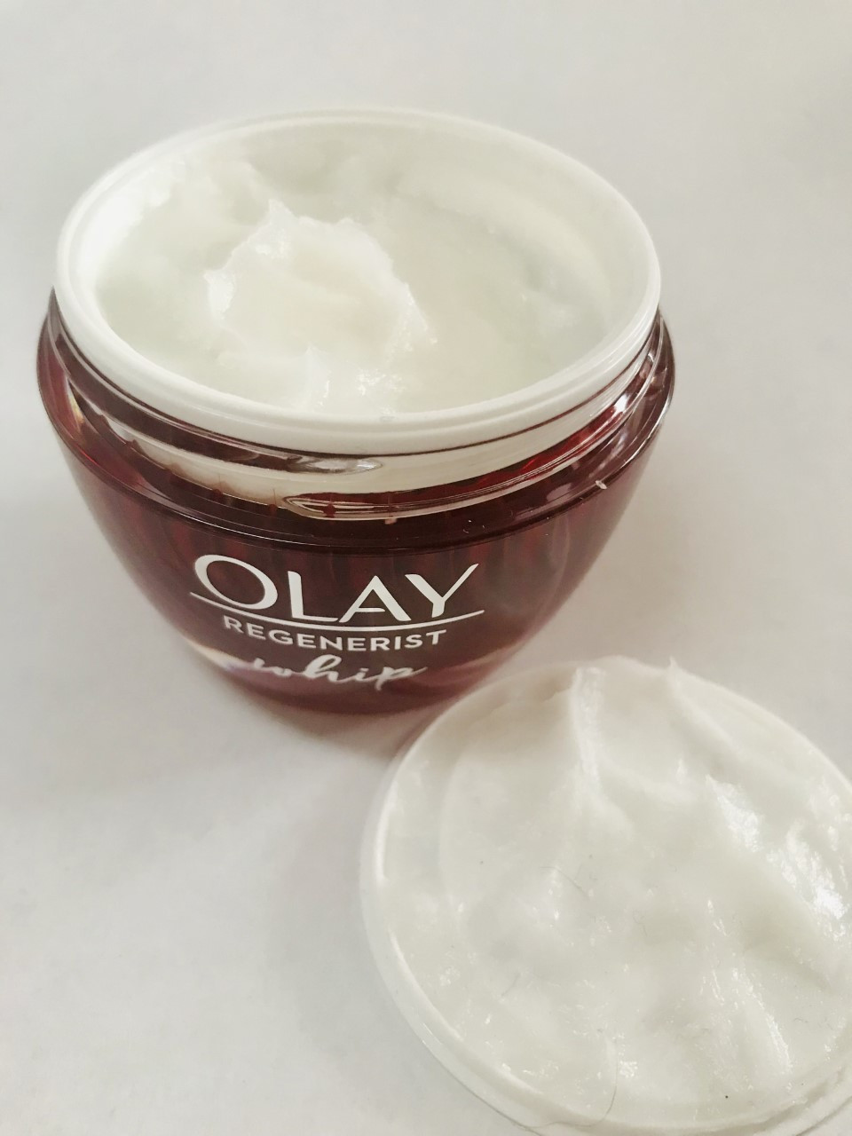 Olay regenerist whips open jar review