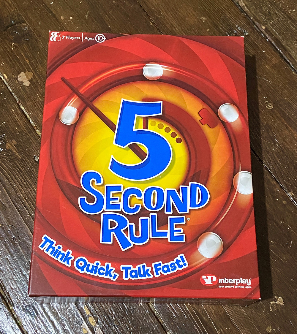 5 second rule board game review
