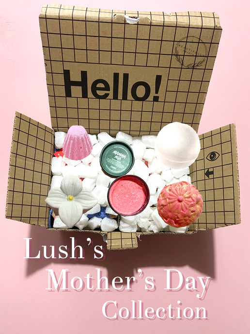 Lush 2021 Mothers's Day collection