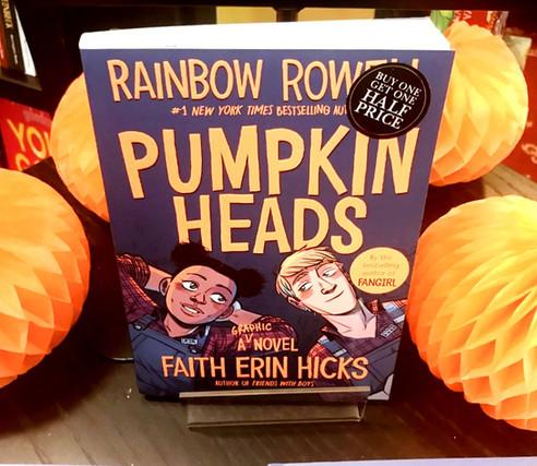 Pumpkin heads - honest book review