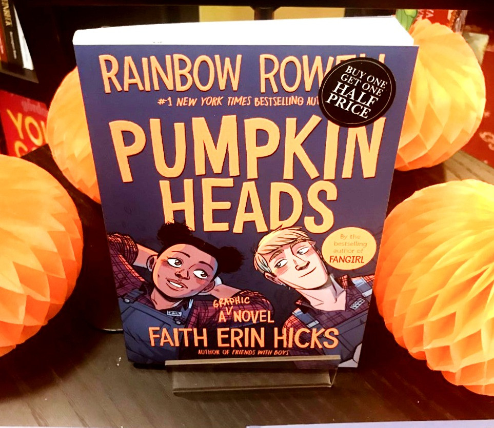 Pumpkin heads book review