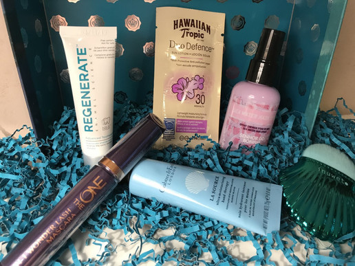 Whats in my Glossy box July 2018 -mermaid vibes