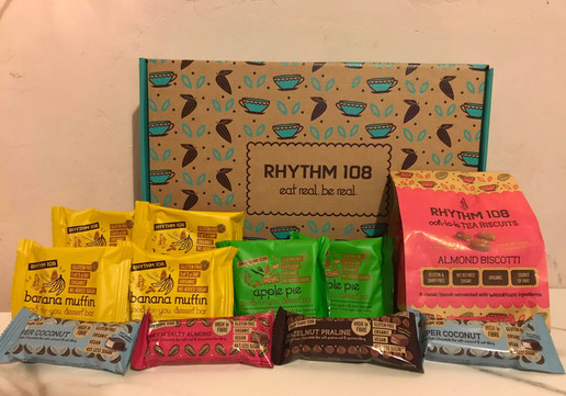 Rhythm 108 - organic gluten free snacks for all the family