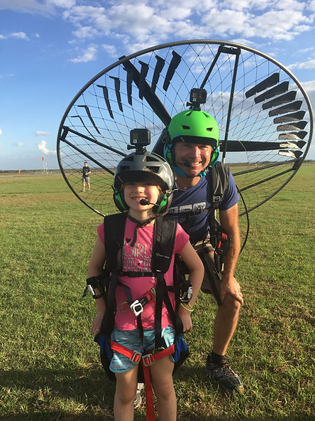 powered paragliding, paramotor training, Paramotor Florida